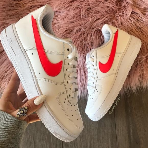 NWT Nike ID Air Force 1 Custom White Pink